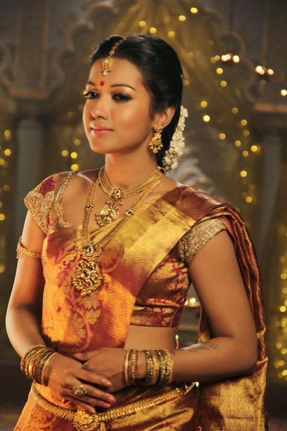 Maroon Golden color Silk Saree | South indian bride, Wedding silk saree, Hindu bride