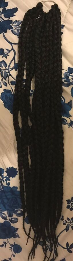 Brand New Synthetic 22inch Box Braid Hair Extenstions Pre Braided Crotchet Hair#...,  #22inch... #crotchetbraids