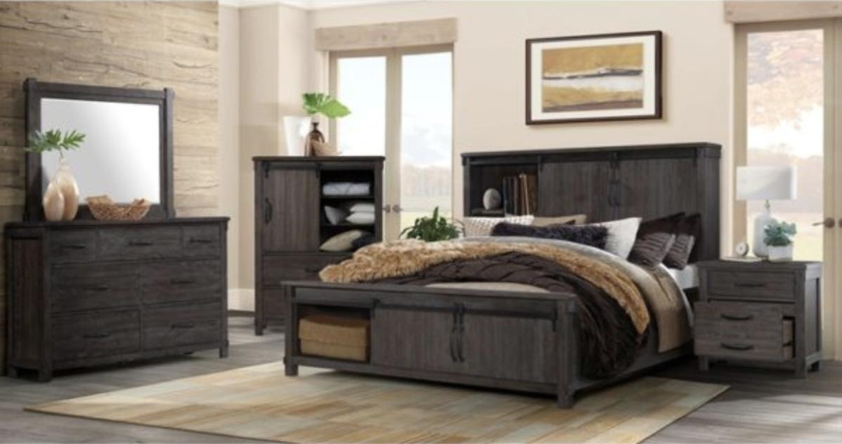 Scott Dark Bedroom Jasons Furniture Outlet in 2020