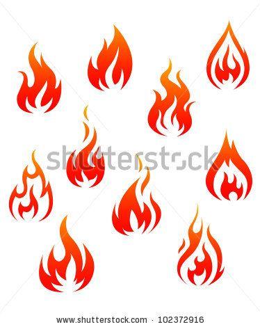 Tribal Fire Flame Tattoo Designs Fire Tattoo Flame Tattoos Fire Image