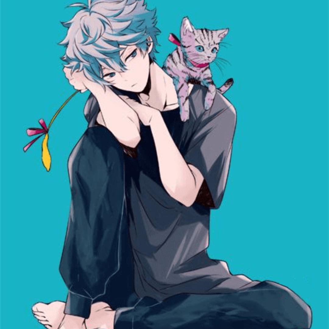 Error Blue Anime Anime Blue Hair Anime