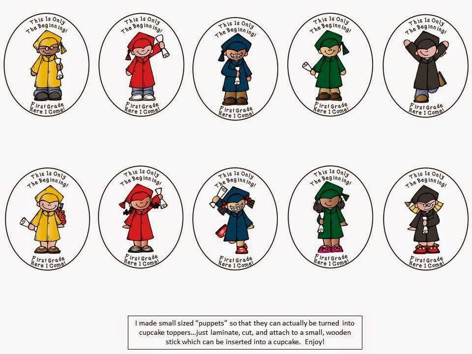 Flash Freebie: Kindergarten Graduation Cupcake Toppers. Enjoy ...