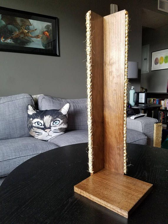 Cat Scratching Post U0026 Couch Protector! 18 14 Inches Tall 8 Inch By 8