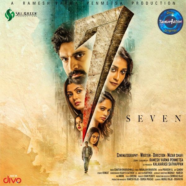 7 [Seven] (2019) Tamil iTunes [M4A-256Kbps] Download Original iTunes
