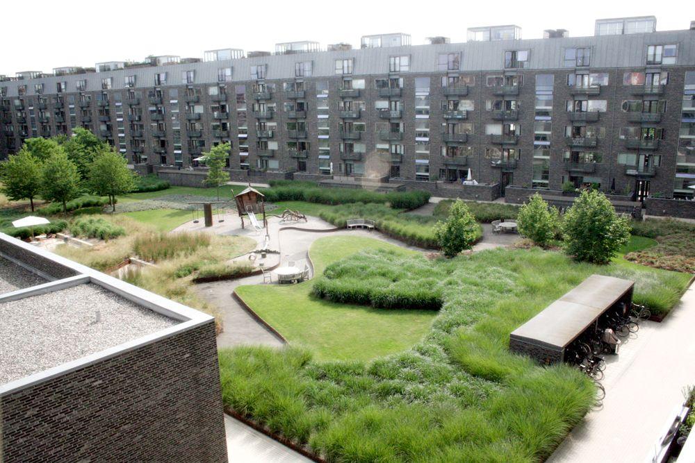 Charlotte garden sla copenhagen 01 landscape for Urban danish design