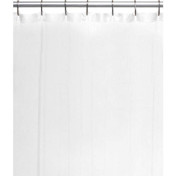 Carnation Home Fashion Extra Long Shower Curtain Liner 5 97