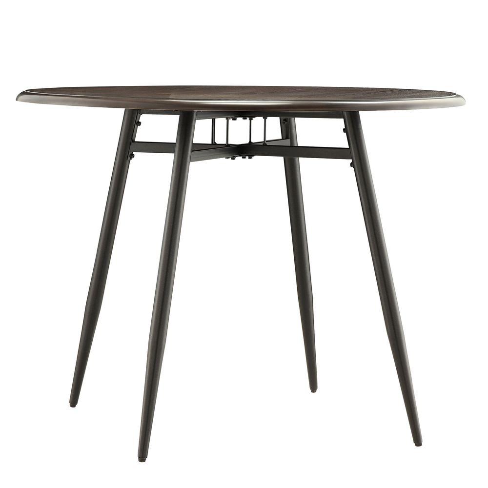 Belita Mid-century Two-tone Modern Wood Dining Table ...