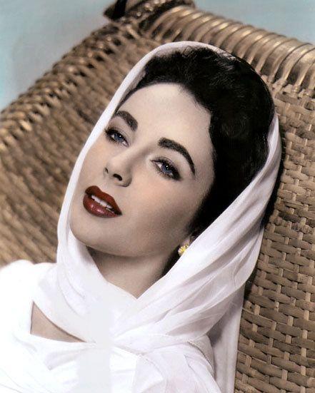 Elizabeth Taylor Giant 1956 Hollywood Movie Star Actress | Etsy