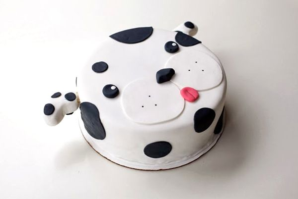 Birthday Cakes With Dog Designs ~ Dog design birthday cake itsdelicious