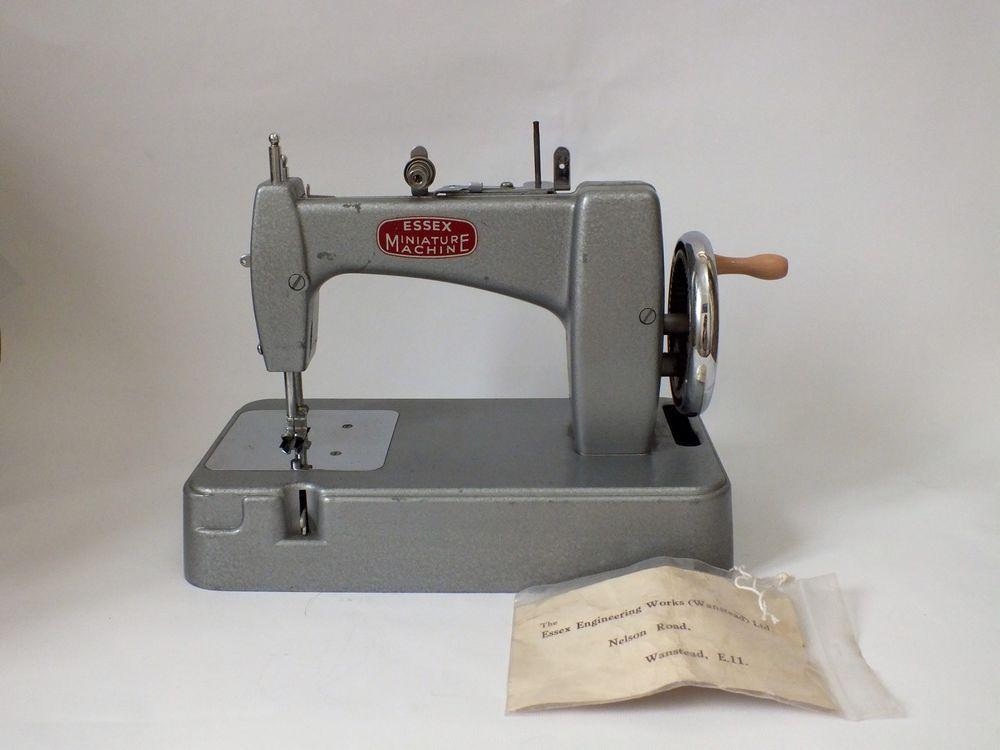 Vintage Essex Miniature Sewing Machine Sewing Machines Pinterest