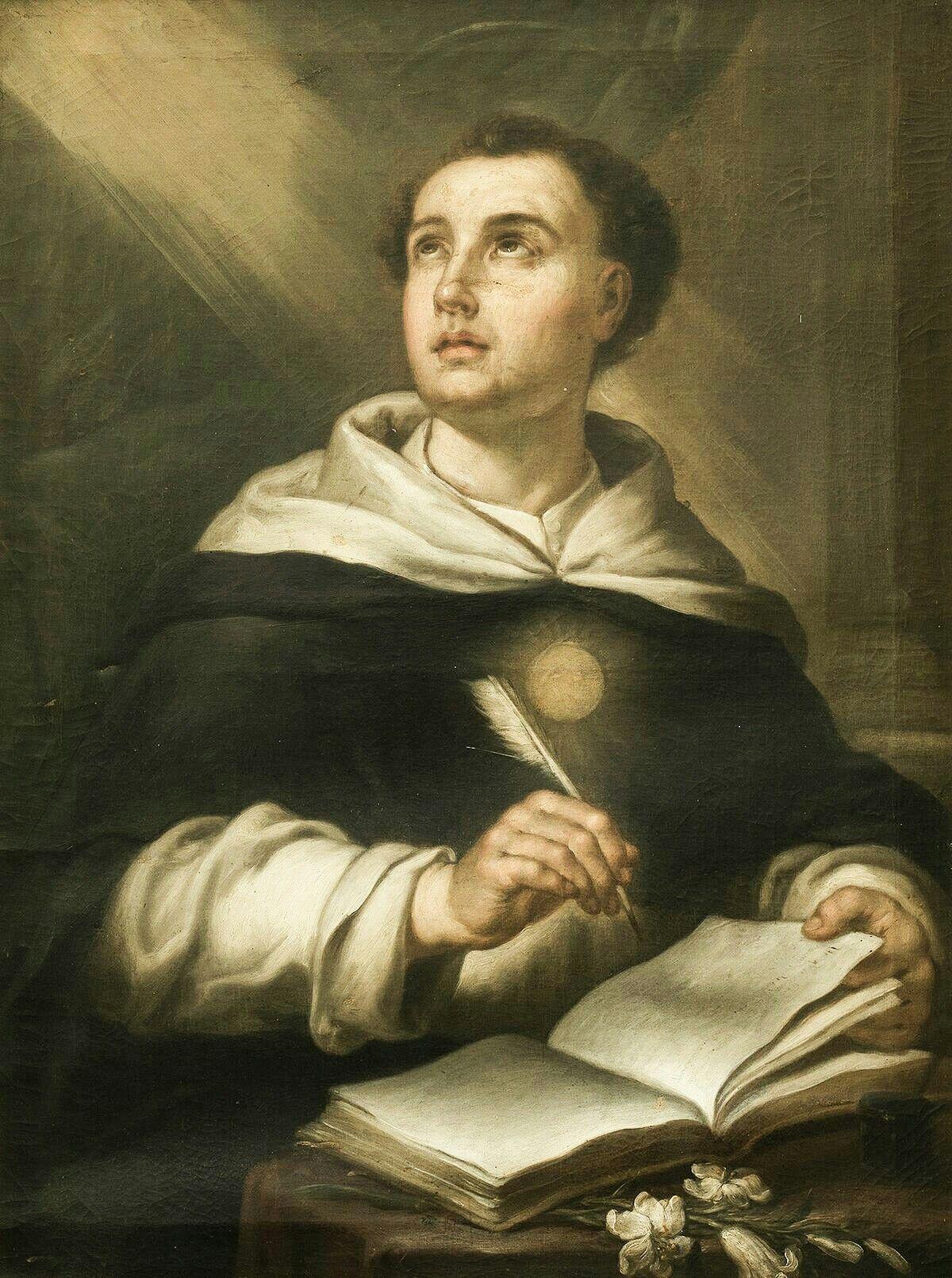 St. Thomas Aquinas | Saint thomas aquinas, Catholic images, Catholic art
