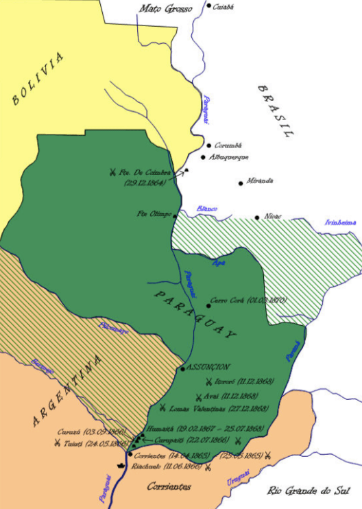 Paraguay and the War of the Triple Alliance - Part 1 | Latin ...