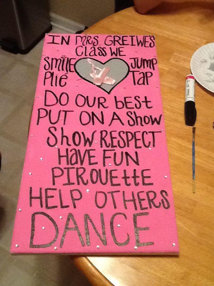 Dance teacher gift. | Dance Teacher Gifts | Pinterest | Dance ...