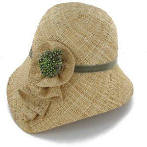 lovely cloche summery hat from hatsinthebelfry.com