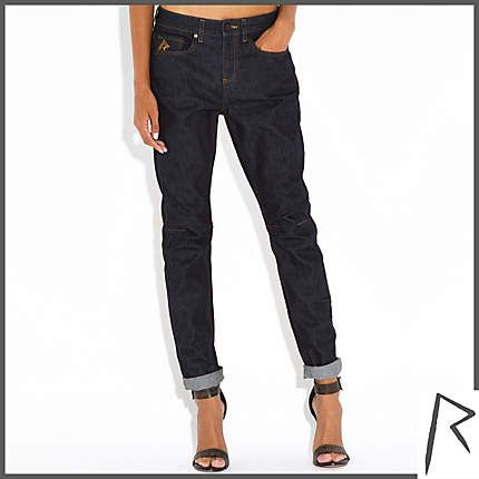 DARK WASH RIHANNA BOYFRIEND JEANS €70 Rihanna for River Island ...