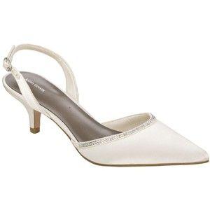 Bridal Shoes Low Heel 2015 Flats Wedges PIcs In Pakistan Mid Heel Low Heel  Ivory Photos