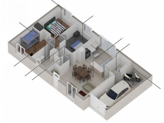 Modèle de maison Open Nord Maia 78 Traditionnel  Photo 1 - modele de construction maison