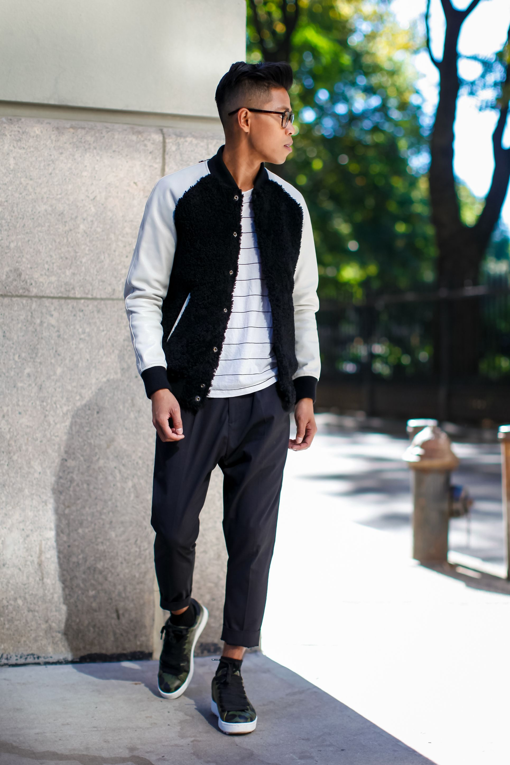 how to style a baseball jackets | Closet Content | Pinterest