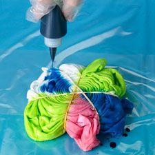 Swirl Tie Dye Technique (and other tie dye patterns)