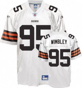 cheaper 32206 1dc0f Team Color Jim Brown Jersey, Cleveland Browns #32 Throwback ...