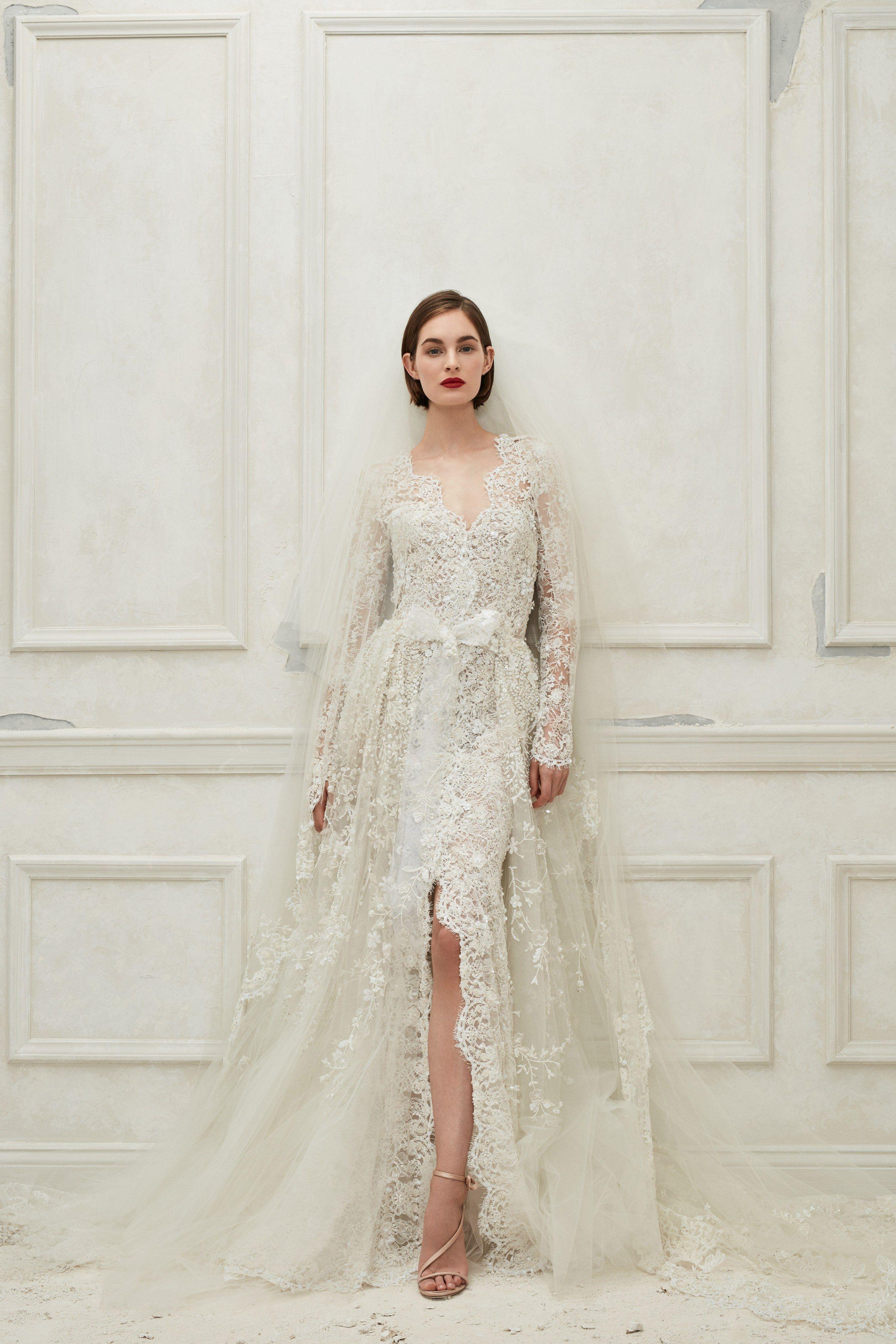 Oscar de la renta bridal fall fashion show in all things