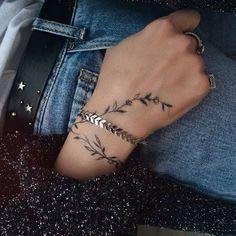 tattoo leaves