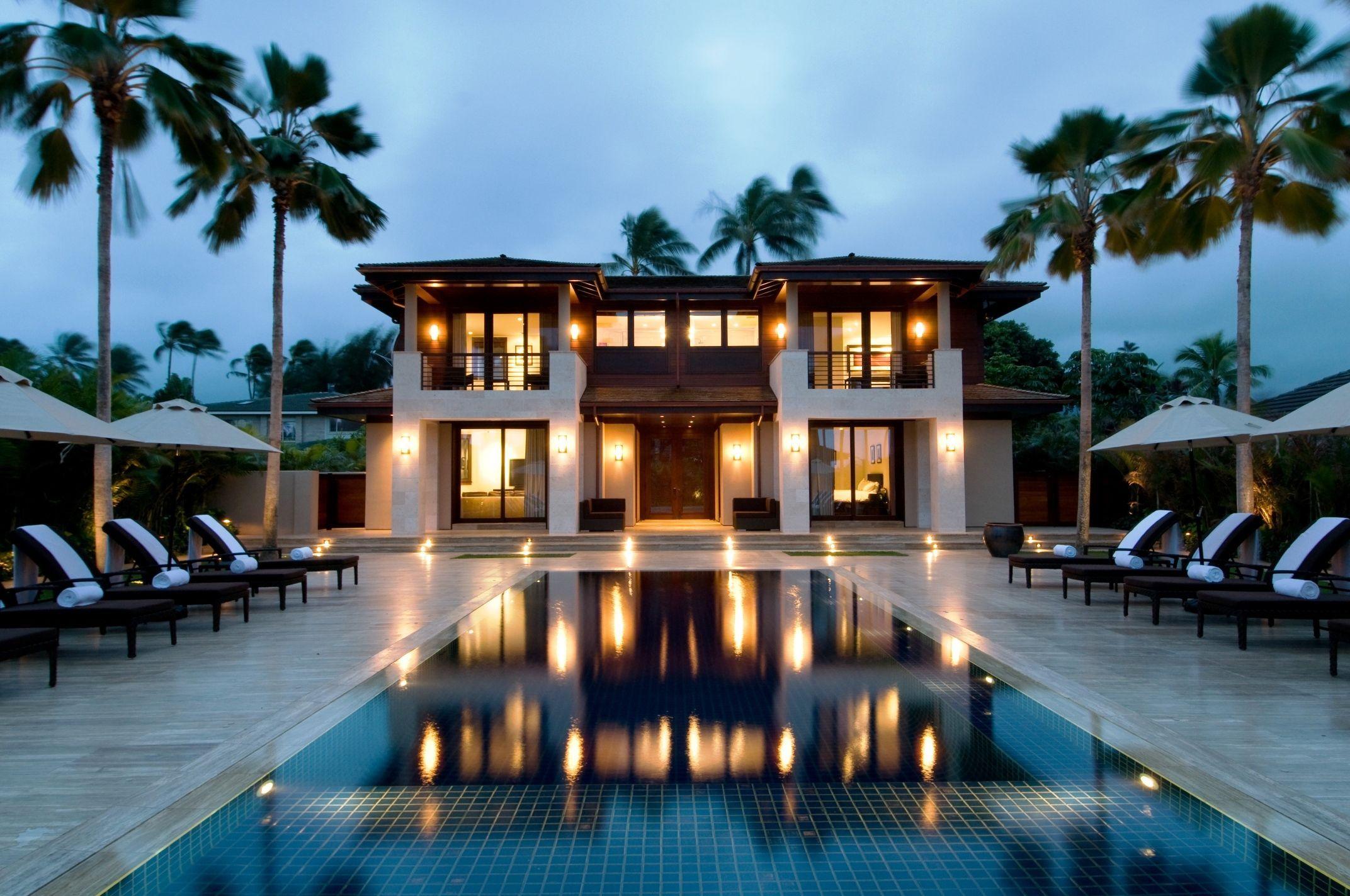 Hawaiian Houses On Beach Hawaii Vacation Als Luxury Homes