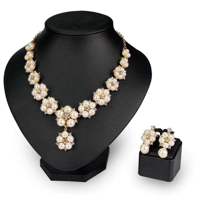 2017 new fashionable bridal jewelry sets of accessories