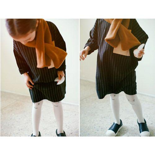 7a0123fd1c53e TinyPokke  s selection ウィンクタイツ(ホワイト)‐ 女の子 男の子 靴下 ソックス -