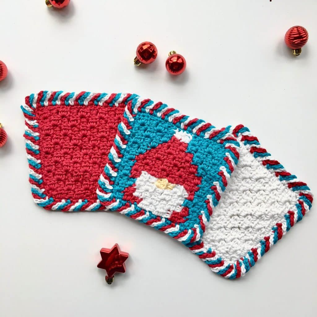 Candy Cane Border In 3 Colors Tutorial And Free Gnome C2c