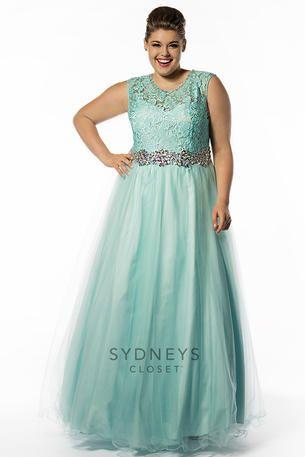 Sydneys Closet - SC7150 Plus Sized Prom