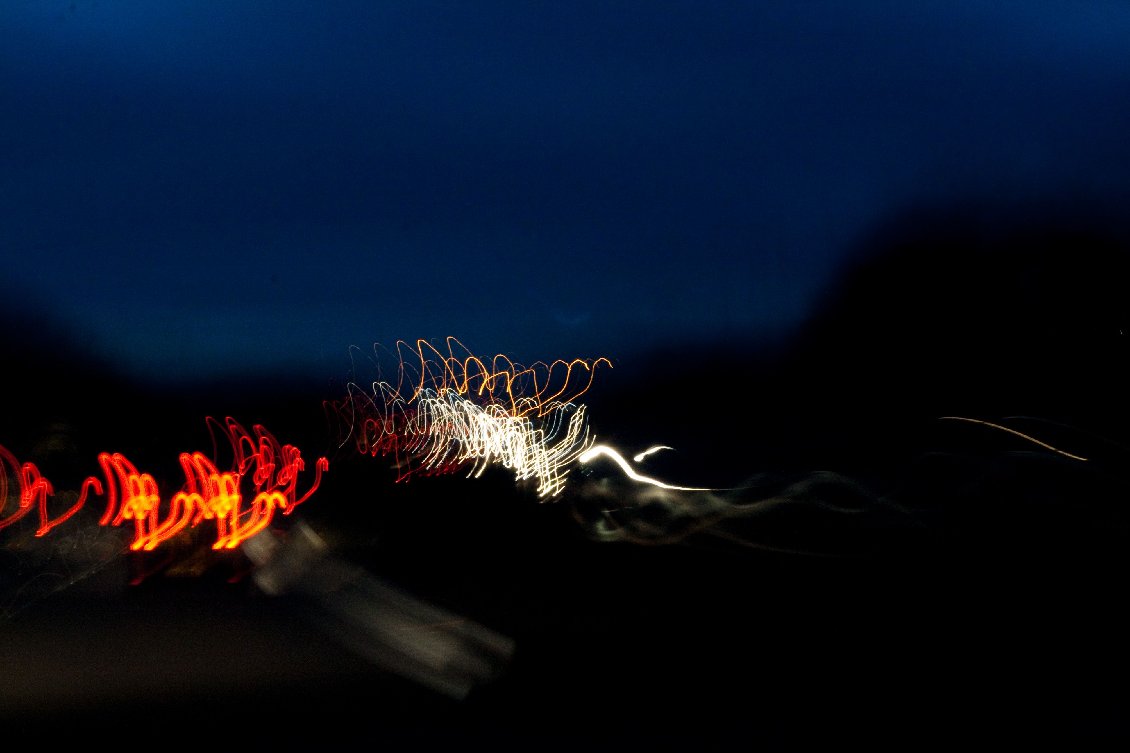 Day 86 - slow shutter speed on the motorway