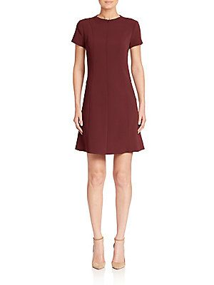 Theory Apalia Admiral A-Line Dress