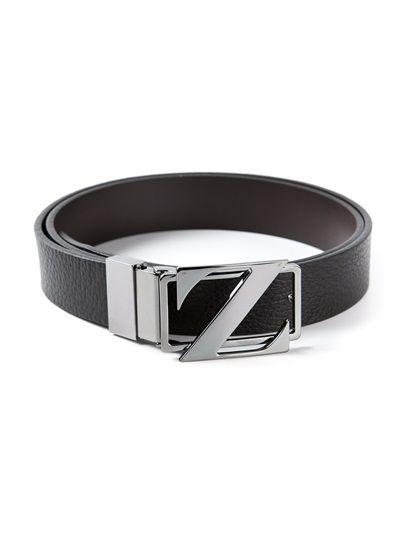 22895712 ERMENEGILDO ZEGNA Buckle Belt   皮帶,皮件   Belt buckles, Belted ...