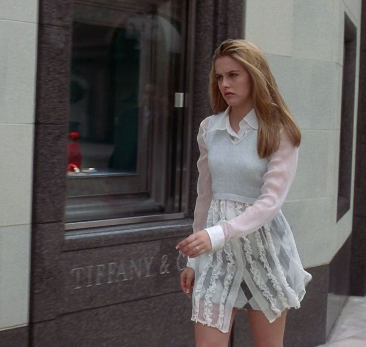 "The Clueless Effect: How One Cult '90s Movie Made a Lasting Impact on Fashion - ""my white shirt from FrednSegal!"""