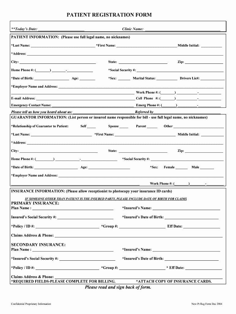 Dental Patient Registration Form Template Unique New Patient Registration Fill Line Printable Registration Form Registration Form Templates Template Word