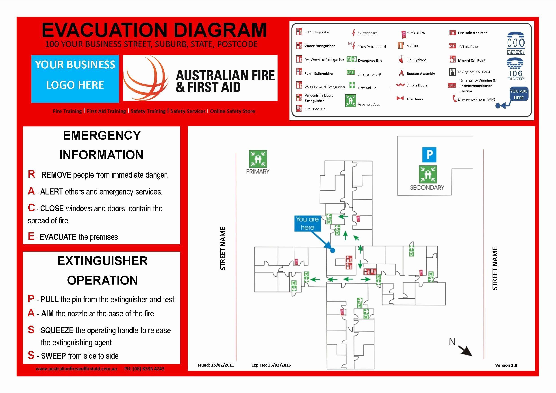Emergency Evacuation Plan Template Free Unique Emergency