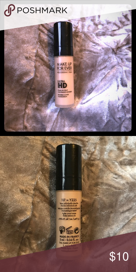 Make Up For Ever Ultra HD Foundation Y225 Guaranteed