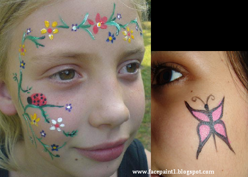 Flower Vine Face Painting Face Painting Easy Face Painting Designs