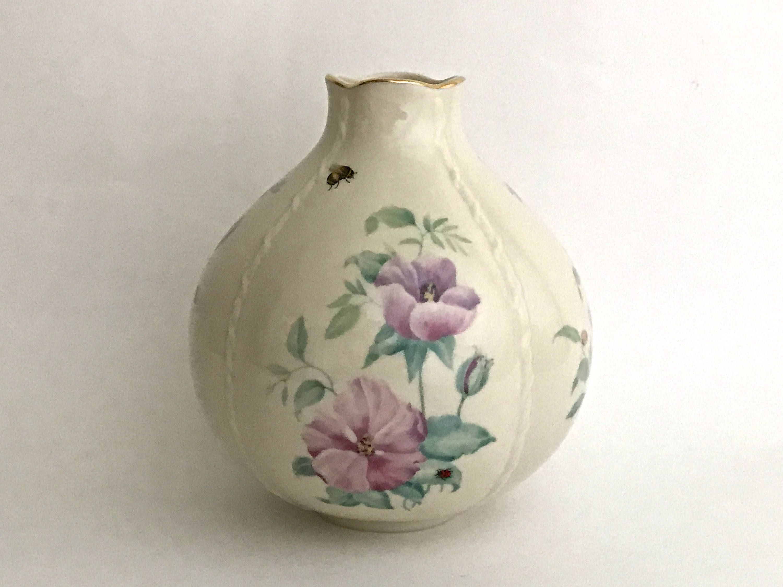 Lenox china vase vintage lenox vase morningside cottage vase lenox china vase vintage lenox vase morningside cottage vase lenox globe vase floridaeventfo Image collections
