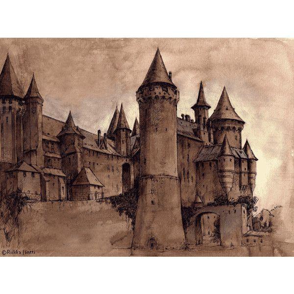 Merlin S Maze Rpg Cheat Masters Forum Found On Polyvore Hogwarts Castle Hogwarts Harry Potter Artwork
