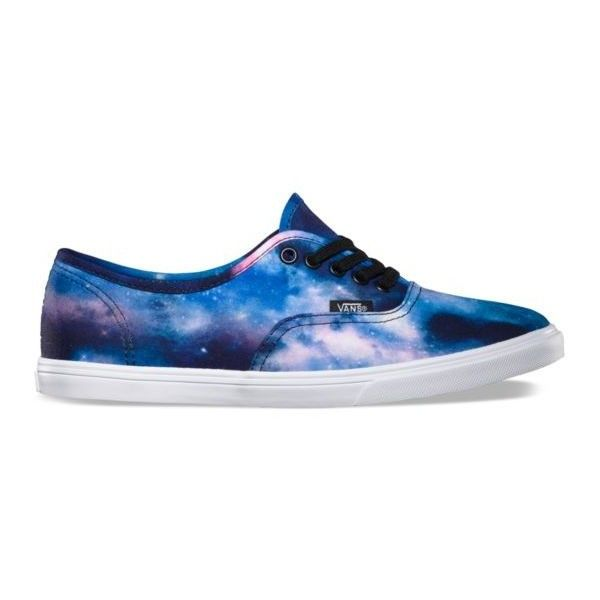 059d1e06dd Cosmic Galaxy Authentic Lo Pro ( 55) ❤ liked on Polyvore featuring shoes
