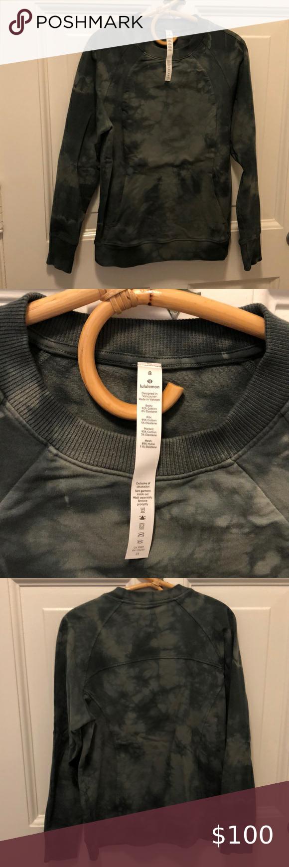 Lululemon Scuba Crew Shibori Tie Dye Ivy Green 8 Shibori Tie Dye Tie Dye Clothes Design [ 1740 x 580 Pixel ]