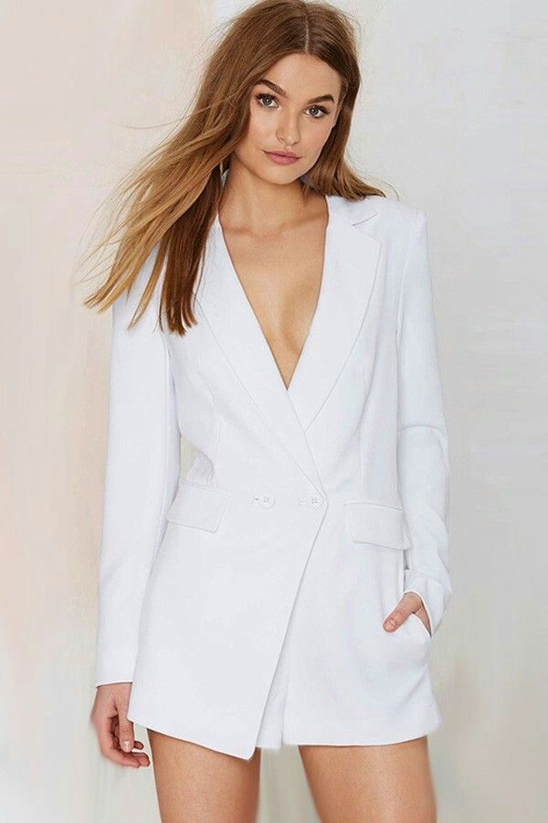 d75b0151e103 Not a dress fan but still want to look smart? Grab a dressy jumpsuit from  Nasty Gal. black and white jumpsuits.