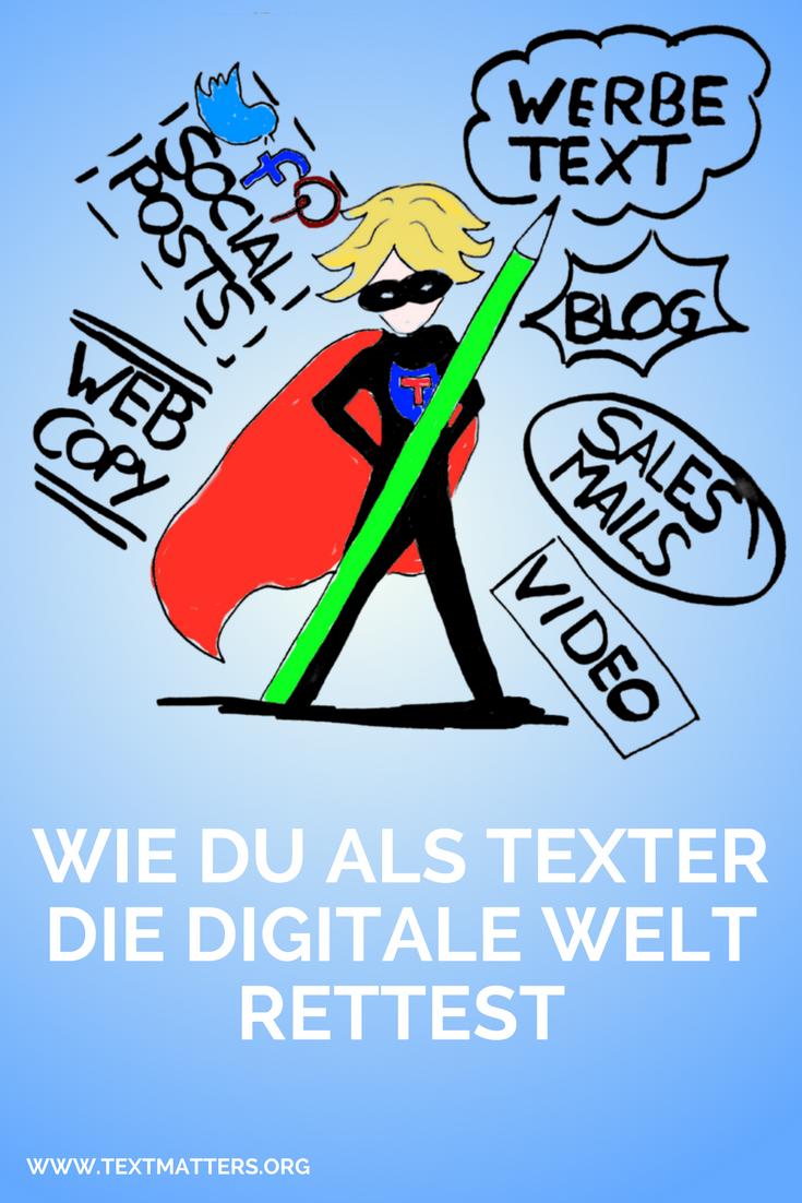 Ohne heldenhafte #Texte geht im Online-#Marketing gar nichts mehr ...