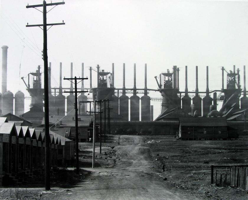 Walker Evans Steel Mill And Company Houses Birmingham Alabama