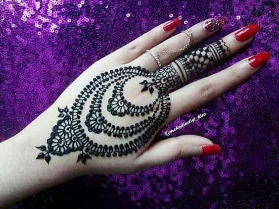 Mehndi Patterns : Pin by anushree saksena on mehndi designs