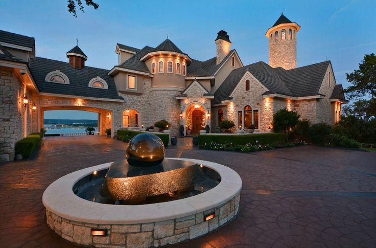 925 million lakefront mansion in lago vista tx