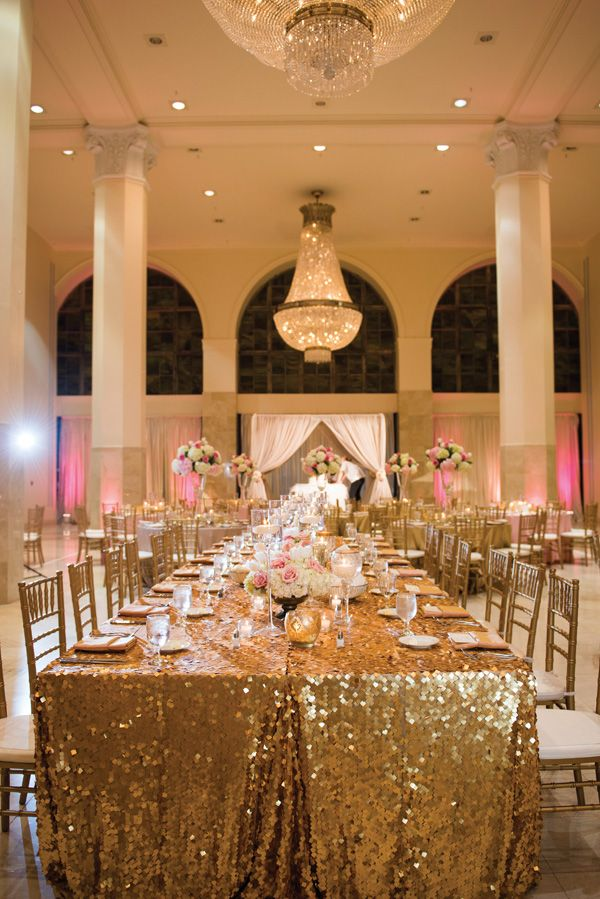 Ivory Gold Blush Multicultural Wedding In Atlanta Mary