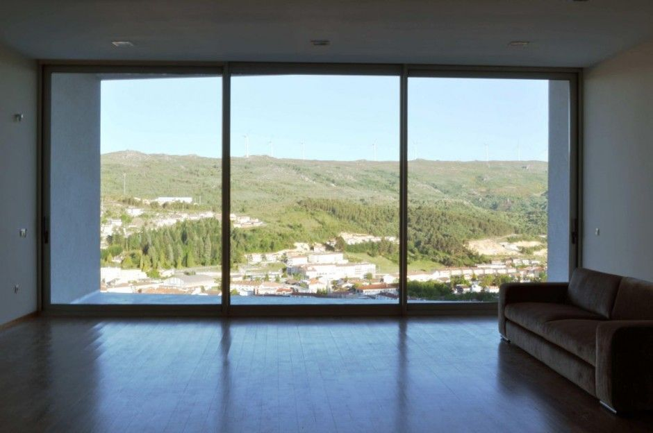 Architecture Jorge Guedes' House Design by 100 Planos Architecture Interior  Styles  Big WindowsWall ...